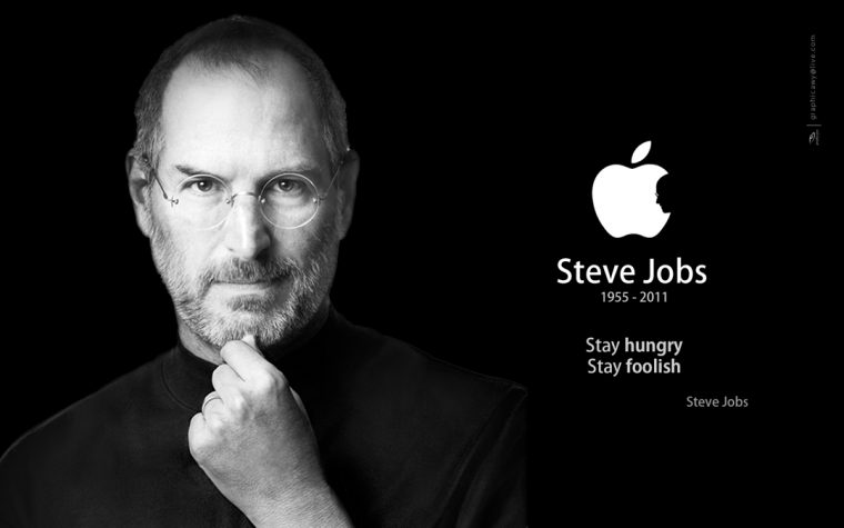 a tribute to the amazing steve jobs // colourliving