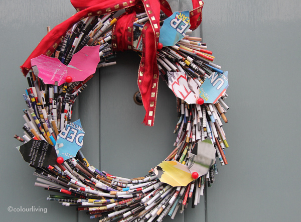 wreaths recycled